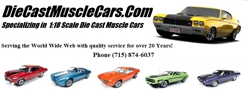 Diecast Muscle Cars