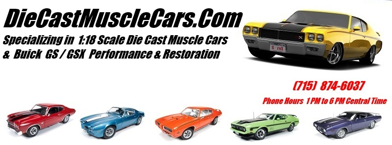 DiecastMusclecars com   1/18th Diecast Musclecars, buick
